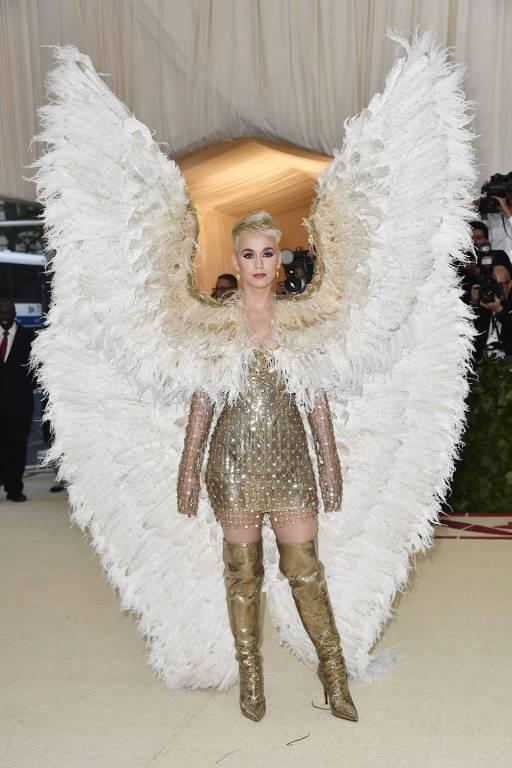 Cele mai interesante lookuri de la gala Met 2018 Katy Pery